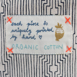 *My blue route* Organic Cotton Pouch - Lili Pepper
