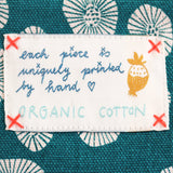 *My green daisy* Organic Cotton Pouch - Lili Pepper