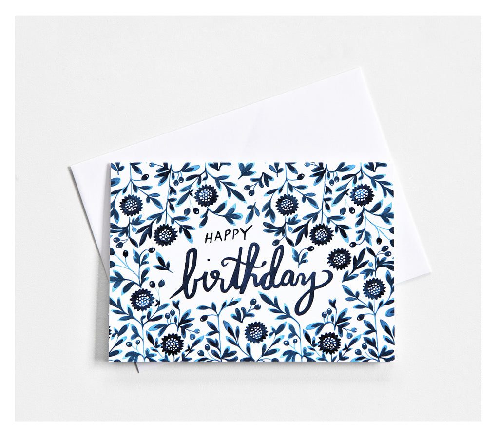 *Happy Birthday* Greeting Card - Lili Pepper