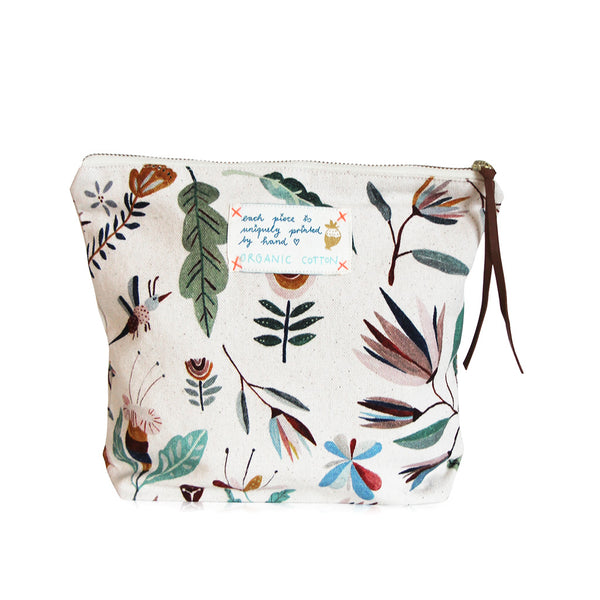 *My Alice* Organic Cotton Pouch