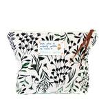 *My Green Leaves* Organic Cotton Pouch - Lili Pepper