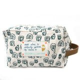 *My Crowd* Organic Cotton Pouch - Lili Pepper