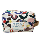 *My Storm* Organic Cotton Pouch - Lili Pepper