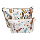 *My Birds* Organic Cotton Pouch - Lili Pepper