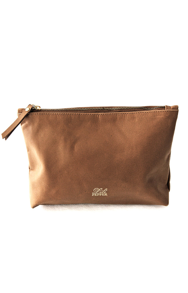 Leather pouch - Lili Pepper