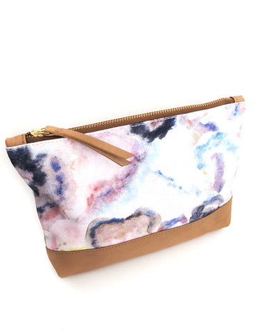 Digital printed canvas pouch *SPECTRA*