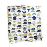 *MOON AND SHAPES* Baby Swaddle blanket - Lili Pepper