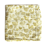 *SINGING BIRDS* Baby Swaddle blanket - Lili Pepper