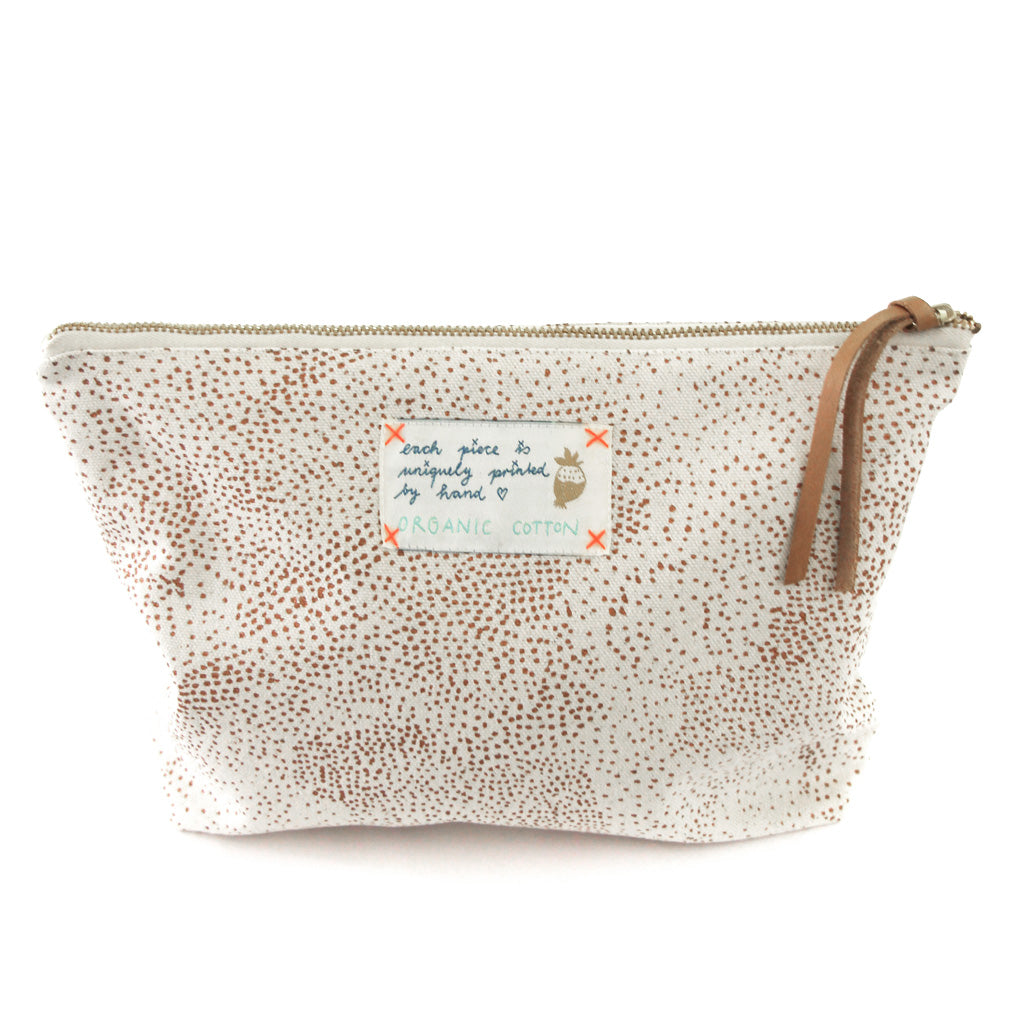 *My Copper Universe* Organic Cotton Pouch - Lili Pepper