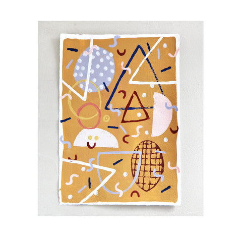 *MR. MUSTARD* Art print Lili Pepper