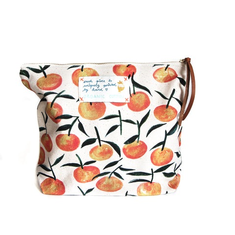 *My Clementine* Organic Cotton Pouch