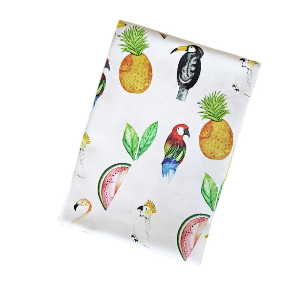 Tea towel *BIRDS & FRUITS from na'is