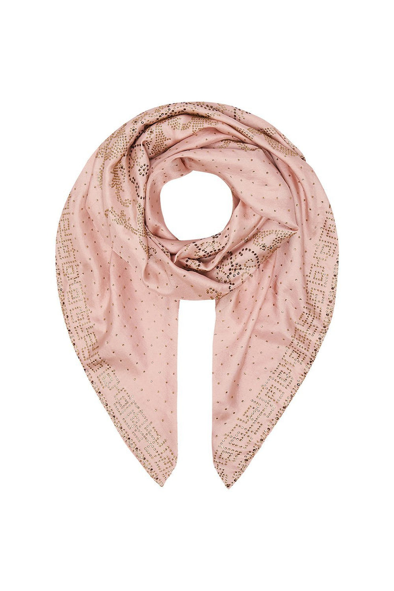 Luxe Pink Large Square Scarf
