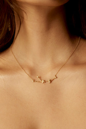 Star Child Chain Necklace - 18K Gold Plated