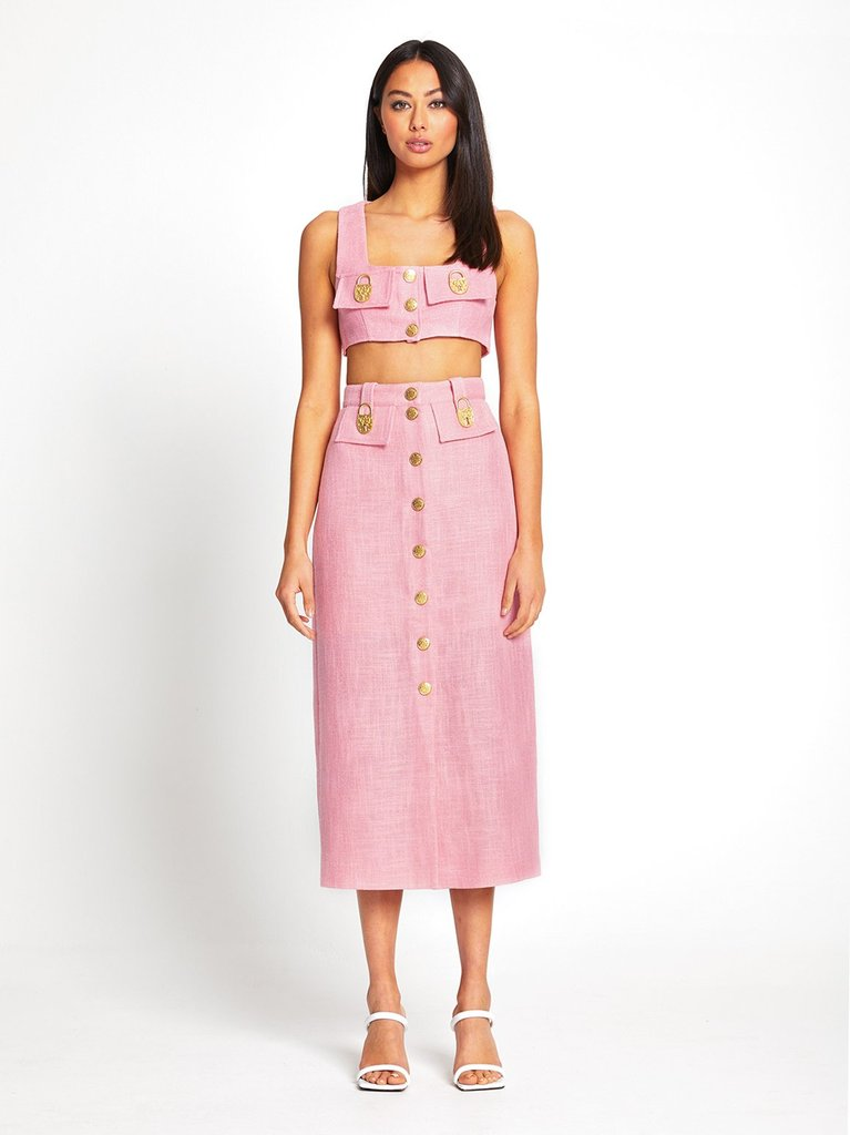 Queenie Skirt - Pink