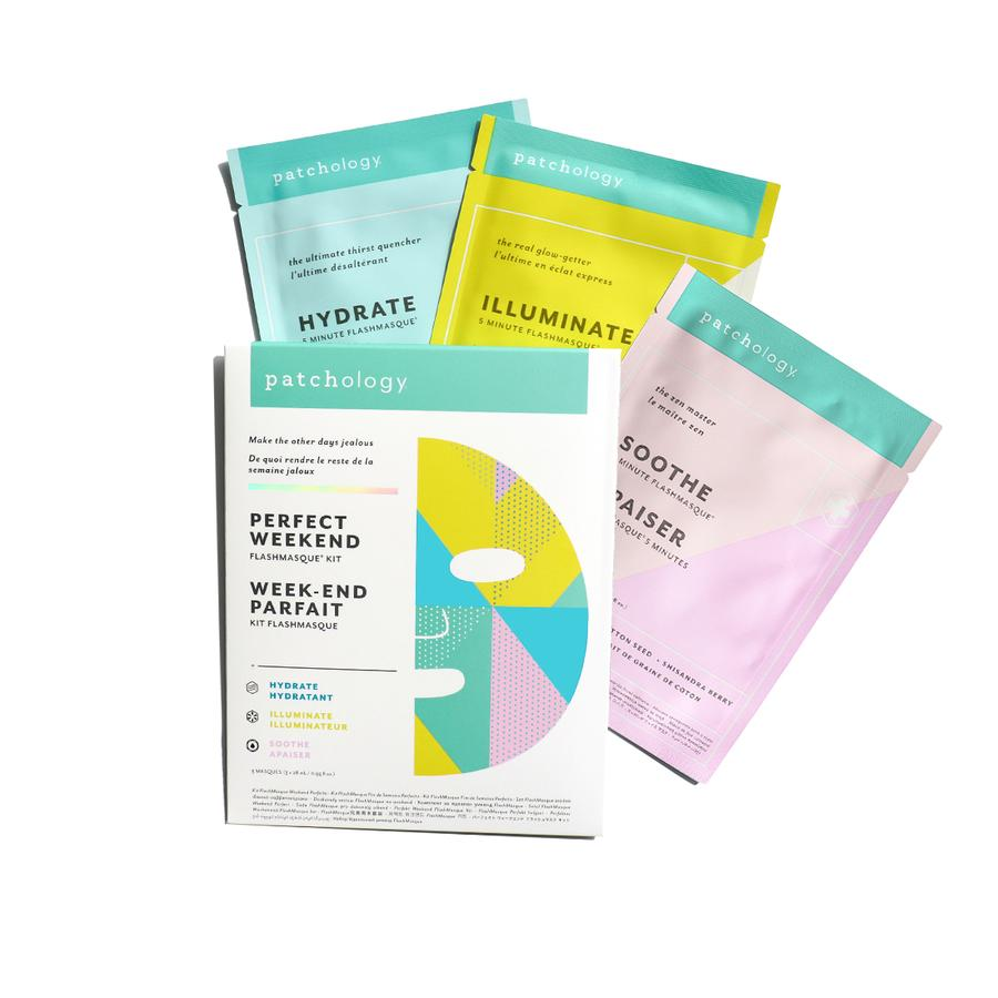 FlashMasque Sheet Mask: Perfect Weekend Trio