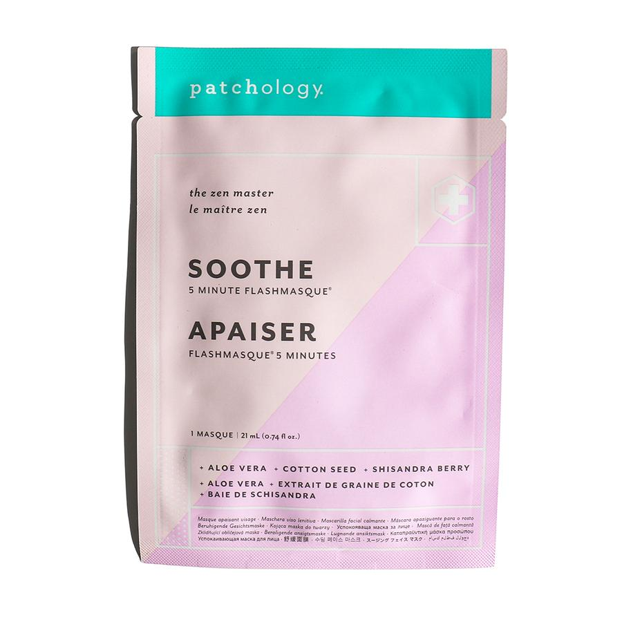 FlashMasque Soothe 5 Minute Sheet Mask - Single