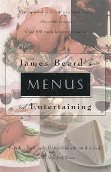 Menus for Entertaining