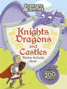 Knights, Dragons & Castles Sticker Activity