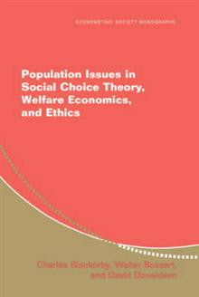 Population Issues in Social Choice Theory, Welfare Economics, and Ethics