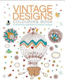 Z- Vintage Designs Colouring Book