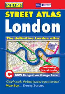 Philip's Street Atlas: London Pocket