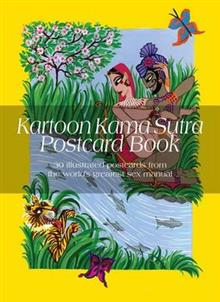 Kartoon Kama Sutra Postcard Book: With Smartphone Animations from the World's Greatest Sex Manual