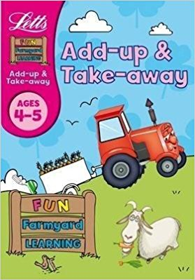 Letts Fun Farmyard Learning Add-up & Take-away Ages 4-5