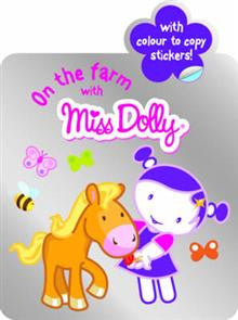 On the Farm with: Colour to Copy, Stickers, Shaped Book
