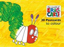 The Very Hungry Caterpillar Postcards to Colour