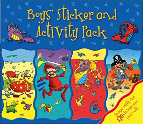 Boys' Activity Pack (Sticker Activity Wallet)