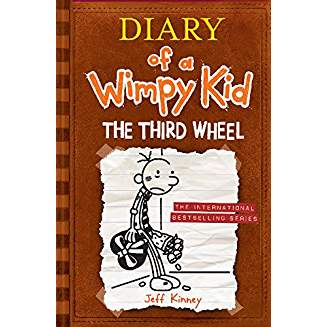 DIARY OF A WIMPY KID #7: THE THIRD WHEEL IE