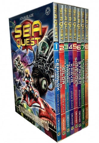 Sea Quest Series 1 and 2 Box Set 8 Books