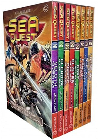 Sea Quest Series 7 and 8 Box Set 8 Books