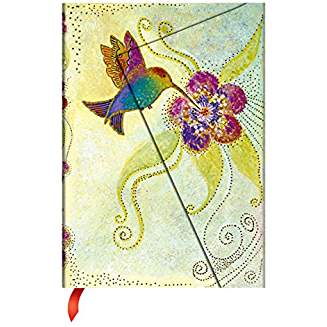Whimsical Creations Journal: Lined Midi (Hummingbird)