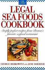 The Legal Sea Foods Cookbook