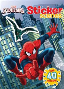 Marvel Spider-Man Sticker Scenes: Over 40 stickers!