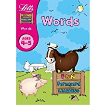 Letts Fun Farmyard Learning Words Ages 4-5