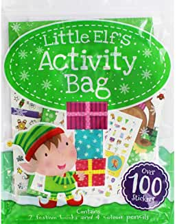 Little Elf`s Activity Bag