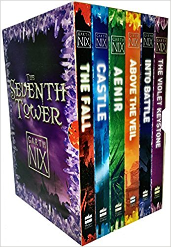 Garth Nix The Seventh Tower Collection Box Set 6 Books