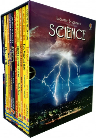 Usborne Beginners Series Science Box Set 10 Books