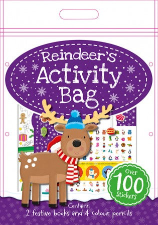Reindeer`s Activity Bag
