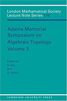 LMS: 176 Adams Memorial Alge vol 2 (London Mathematical Society Lecture Note Series)