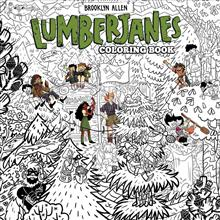 Lumberjanes Coloring Book