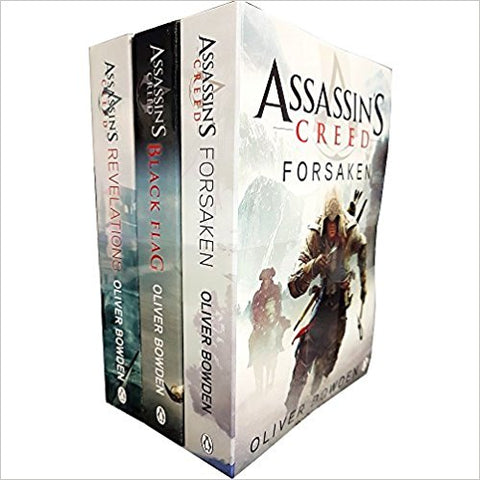 Oliver bowden assassins creed 3 books collection set volume 4 to 6