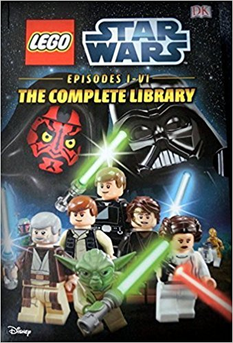 LEGO Star Wars Episodes I-VI Box Set 6 Books
