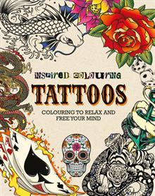Inspired Colouring Tattoos: Colouring to Relax and Free Your Mind