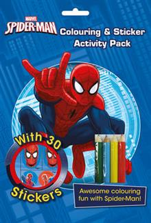 Marvel Spider-Man Colouring & Sticker Activity Pack: Awesome Colouring Fun with Spider-Man!