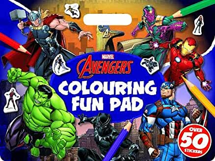 Marvel Avengers Colouring Fun Pad
