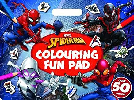 Marvel Spider Man Colouring Fun Pad